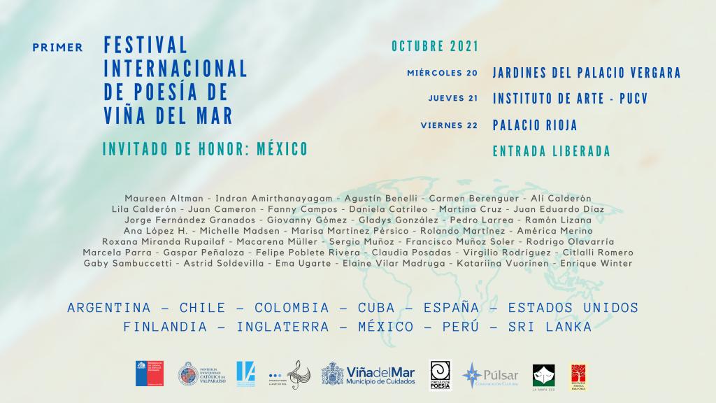Primer Festival Internacional de Poesía de Viña del Mar 2021