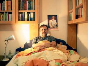 """Slavoj Žižek: """"El gran capital usa este miedo a la catástrofe ecológica como una manera de legitimarse"""""""