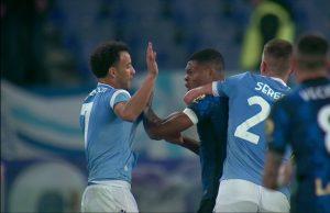 VIDEO| Pelea, expulsado, jugador llorando y expresiones racistas: Lazio-Inter tuvo de todo
