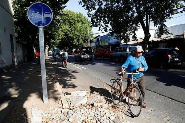 Santiago en cleta: Plataforma colaborativa informa a ciclistas sobre calidad de las rutas