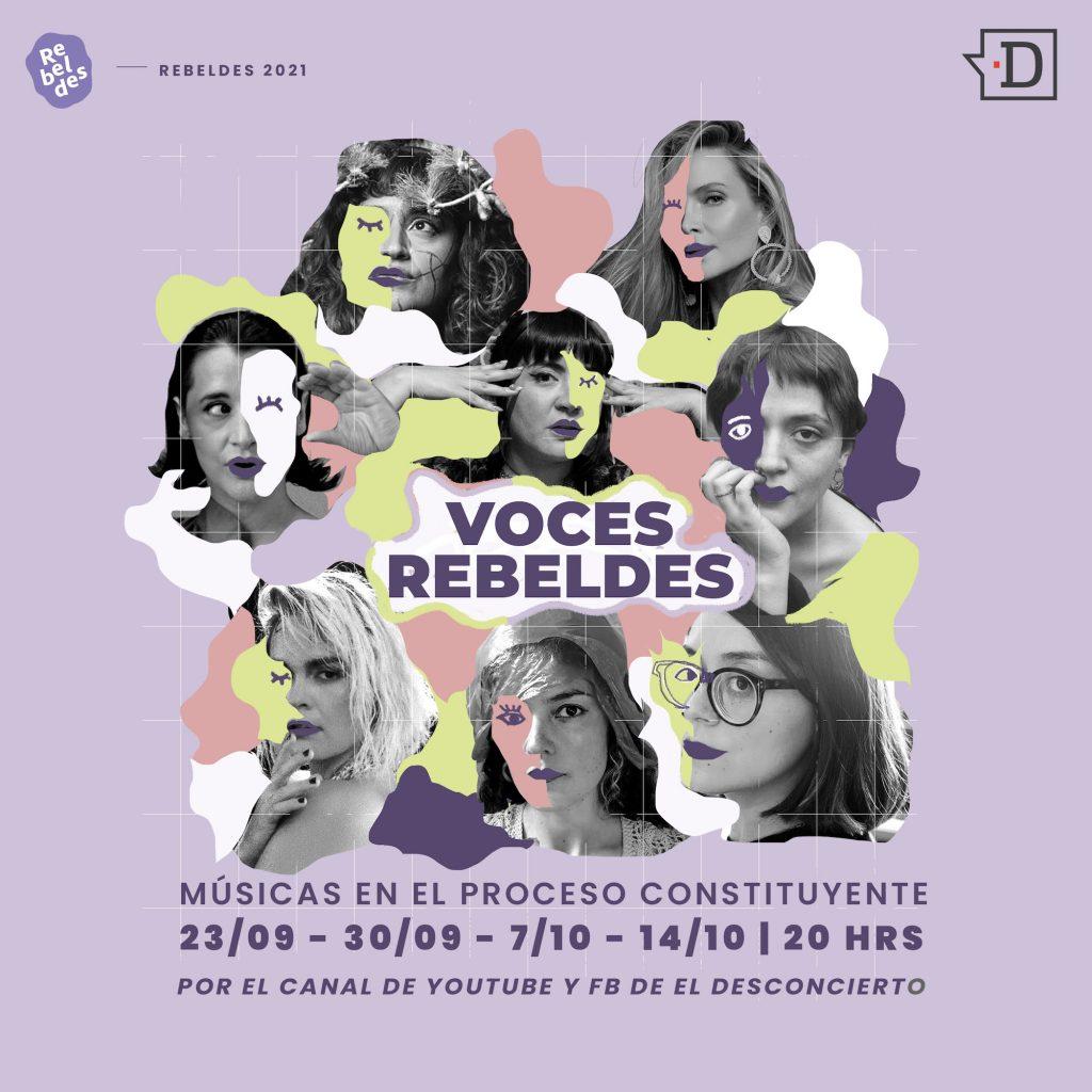 Músicas en el proceso constituyente: Repasamos la segunda temporada de Voces Rebeldes