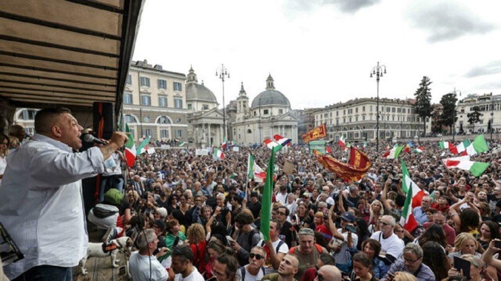 Italia: Presentan moción en el Parlamento para ilegalizar a neofascistas